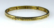 4030555 Jeremiah 29:11 Christian Stretch Bracelet Jesus Religious Christ Bible