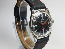 VINTAGE TITONI 21J HAND-WINDING SWISS MOVEMENT MEN'S ANALOG DIAL WRIST WATCH