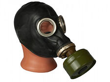 Military Soviet Russian GP 5 Black Gas mask with full set, New with Filter Bag
