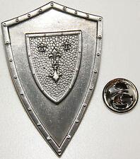Schild mit 4 Lilien Abzeichen l Anstecker l Abzeichen l Pin 146