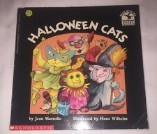 1992 1st Edition Halloween Cats by Jean Marzollo (1992, Paperback) Book On Tape