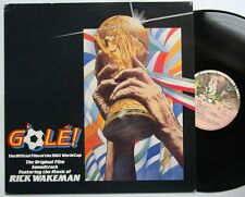 Rick Wakeman G'Ole Offical World Cup 1982 LP Sample Copy Sticker
