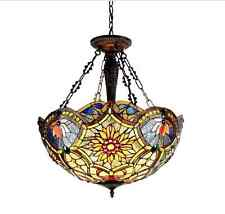 Tiffany Lamps Ceiling Chandelier Stained Glass Lights Pendant Kitchen Dining