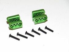 YY-MADMAX ALUMINUM UPPER CHASSIS LINK MOUNT AXIAL YETI XL GREEN