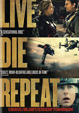 NEW GENUINE WB DVD TOM CRUISE LIVE DIE REPEAT EDGE OF TOMORROW FREE 1ST CLS s&H