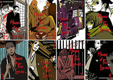 House of Five Leaves Series MANGA by Natsume Ono Collection Volumes 1-8!
