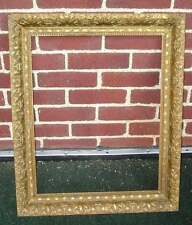 Antique Aesthetic Eastlake Victorian Picture Frame Amazing Liner Aged 16 x 20