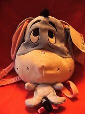 Disney Soft Eeyore Back Pack - PluSh Soft Bag With Adjustable Straps by poshpaws