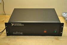 National Instruments NuDrive 4CF-001 Multi-Axis Power Amplifier 184923A-004