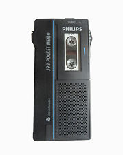 Philips 393 pocket Memo Dictaphone pour minikassette #60
