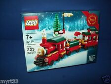 LEGO 40138 CHRISTMAS TRAIN ~ Factory Sealed  2015 Limited Edition Holiday new