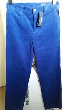 "MENS/BOYS 176 CM ROYAL BLUE VELVET FIT TROUSERS/JEANS ""POLO RALPH LAUREN ""160/68"