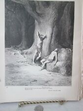 Vintage Print,TEARS+HIGH WINDS,Dore,Paradise Lost,1886
