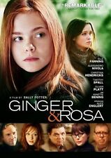 Ginger & Rosa (DVD, 2013) FREE SHIPPING Factory Sealed!