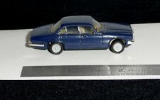 BLUE JAGUAR XJ6 / XJ12 SEDAN BY HERPA 1:87 SCALE