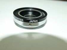 NEW 1.5X C MOUNT TELECONVERTER TELE EXTENDER LENS METAL MOUNT MADE in JAPAN