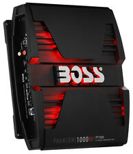 BOSS Audio PT1000 Phantom 1000W 2 Channel Full Range, Class A/B Amplifier