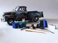 Danbury Mint 1953 Chevy Bass Fisherman's Pickup 1:24 Scale Die Cast Model Truck