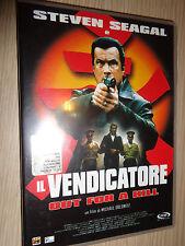 DVD STEVEN SEAGAL  IL VENDICATORE OUT FOR A KILL