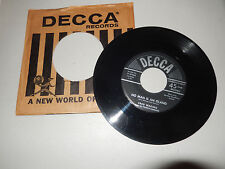 FRED WARRING AND HIS PENNSYLVIANS worship /no man is an island  DECCA   45