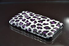 iPhone 3 3G 3GS Animal Print   Hard Back Cover Case skin (Purple)