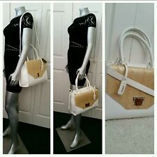 $120.00 100% AUTHENTIC NWT BEBE LOGO   HAND/SHOULDER BAG