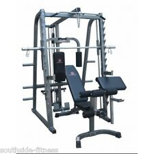 REVOLUTION SMITH MACHINE POWER RACK PACKAGE, GREAT FOR HOME GYM OR STUDIO