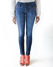 BLACK ORCHID Candice Button Front Ankle Slim Skinny Jeans Dawn Blue 28 $170 #4