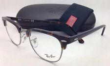 New RAY-BAN CLUBMASTER Rx-able Eyeglasses RB 5154 2012 51-21 Havana Frame w/Demo