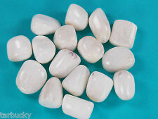 1 SCOLECITE Tumbled HEALING Crystal Rock Stone with pouch  XLarge 18 grams