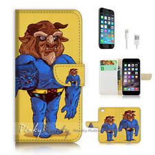 iPhone 7 (4.7') Flip Wallet Case Cover P2832 Cartoon