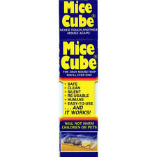 Mice Cube 4 Pack, Reusable Humane Mouse Trap, New