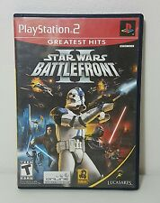 Star Wars: Battlefront II (Sony PlayStation 2, 2005) Greatest Hits Complete
