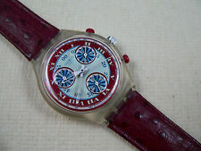 1993  Swatch Watch Windmill SCK103 Leather Band Never worn