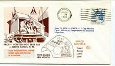 1978 FCRS Hoisted Test Bay White Sands Missile Range Space Shuttle New Mexico