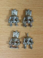 4 CLASSIC METAL EPIC SPACE MARINE CONTEMPTOR DREADNOUGHTS STRIPPED (1641)
