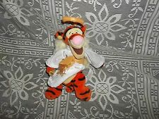 "Used 9"" tall Disney Store Winnie the Pooh's Angel Tigger Plush toy- Box A"