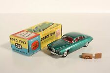 Corgi Toys 238, Jaguar Mark X, green, rare, Mint in Box     #ab2074