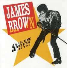 20 All-Time Greatest Hits! - James Brown (1991, CD NIEUW)