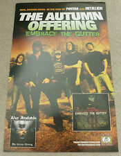 Embrace the Gutter - The autumn offering   PROMOTIONAL MUSIC POSTER