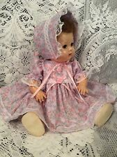 """Doll Clothes for 16"""" Tiny Tears """"Lovely Floral Dress Set"""" by Maureen"""