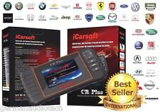 PROFESSIONAL UNIVERSAL OBD2 DIAGNOSTIC SCAN FAULT CODE READER iCARSOFT CR-PLUS