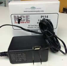 NCE 221 DCC P114 Power Supply 2A for Power Cab & PCP Panel 524-221 modelrrsupply