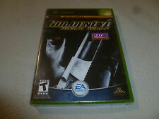 BRAND NEW FACTORY SEALED XBOX VIDEO GAME GOLDEN EYE ROGUE AGENT NFS 007 PRESENTS