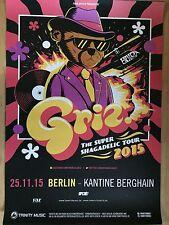 GRIZ 2015 BERLIN - orig.Concert Poster  --  Konzert Plakat  A1 NEU
