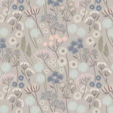 1/2 Mtr Lewis and Irene A57-5 Make Another Wish Hedgerow Flower Patchwork Fabric