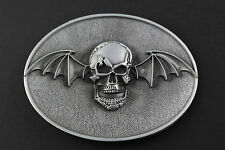 AVENGED SEVENFOLD BELT BUCKLE METAL ROCK MUSIC BAT SKULL