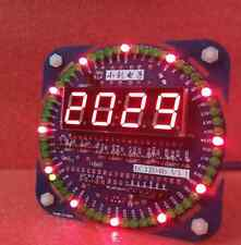 LED Digital Display Electronic Clock Set Date Alarm Temperature Learning Board E