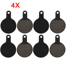4 Pairs Bicycle Disc Brake Pads ZOOM Resin Disc Bicycle Spare Parts Brake Pads
