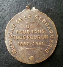 UN POURTOUS 1887-1948 MEDAL MEDALLION 15.68 GRAMS L@@K!